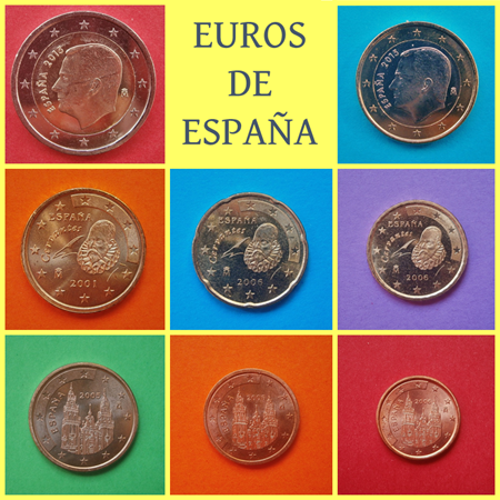 Monedas de Euro de España