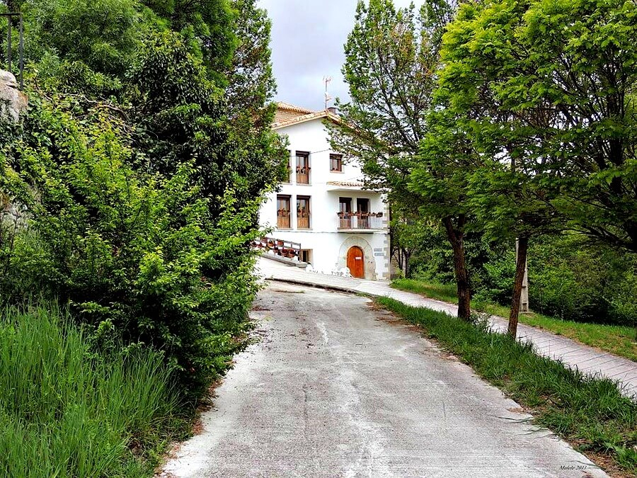 Albergue de peregrinos Parroquial de Zabaldika, Navarra, Camino de Santiago