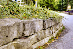 Wiarton Brown Grey Retaining Wall
