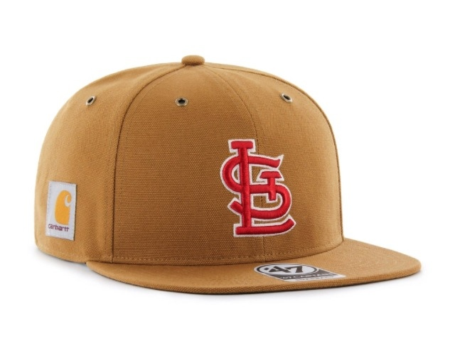 761fa018e57 Wow -- I really like the look of this new Cardinals Carhartt hat