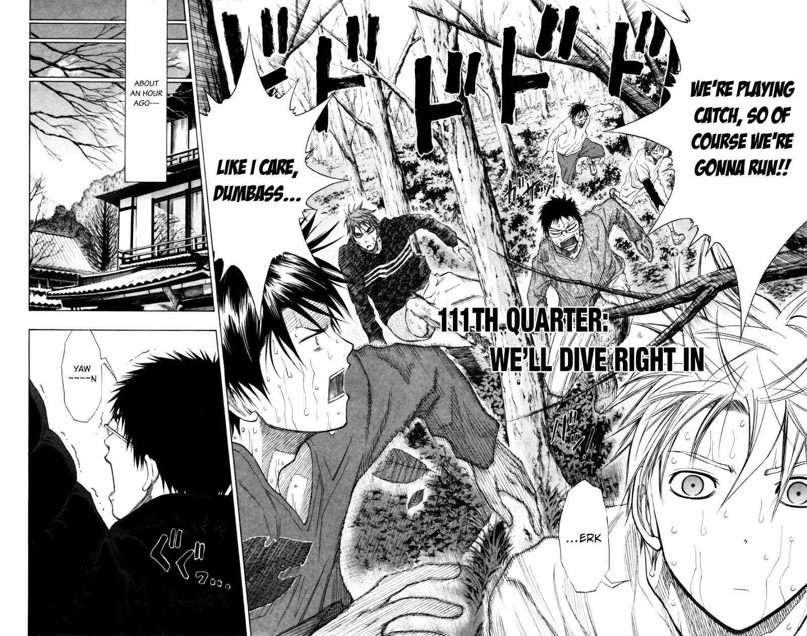 Kuroko no Basket Manga Chapter 111 - Image 02-03