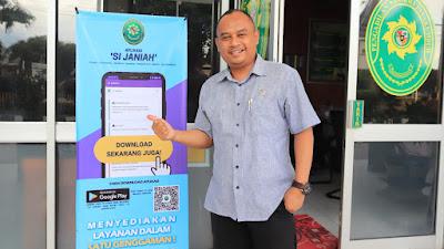 Pengadilan Negeri Payakumbuh Luncurkan Inovasi Baru, Aplikasi SIJANIAH
