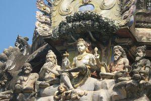 Thiru Thuruthi (Kuttalam) Temple Moolasthana Gopuram - Dakshinamurthy