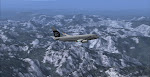 Alaska 73G soars above the Washington Cascades en-route to Seattle