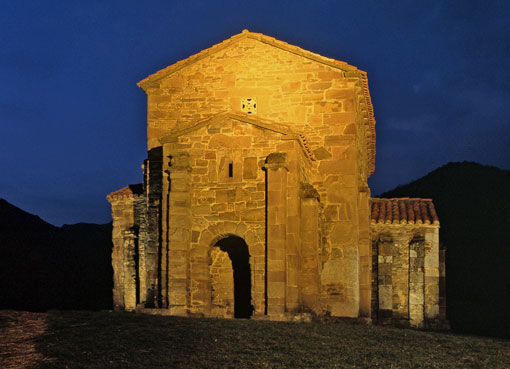 Santa Cristina de noche