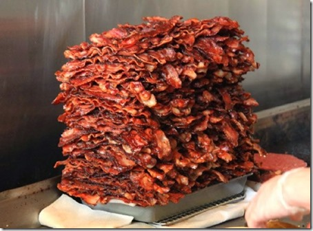 bacon2 pile of 50 lbs cooked