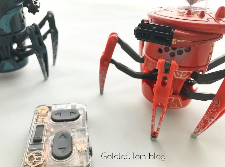 Battle spiders, juguetes robóticos para niños