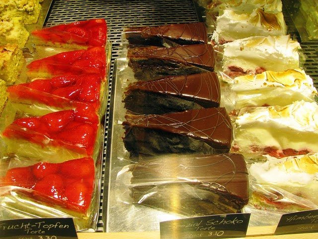 Desserts in Graz. From an eating tour of Austria