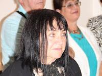 26 Mihályfi Mária, a kiállító képzőművész.JPG