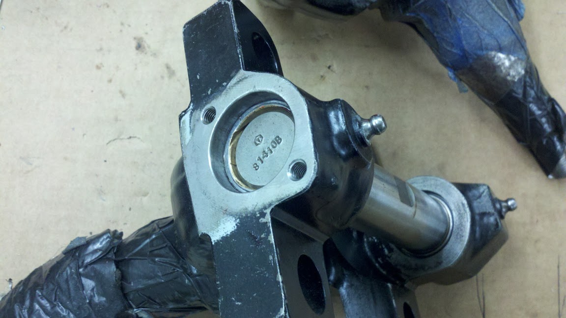 Disc brakes for 1 5, and 2 ton trucks - The Stovebolt Forums