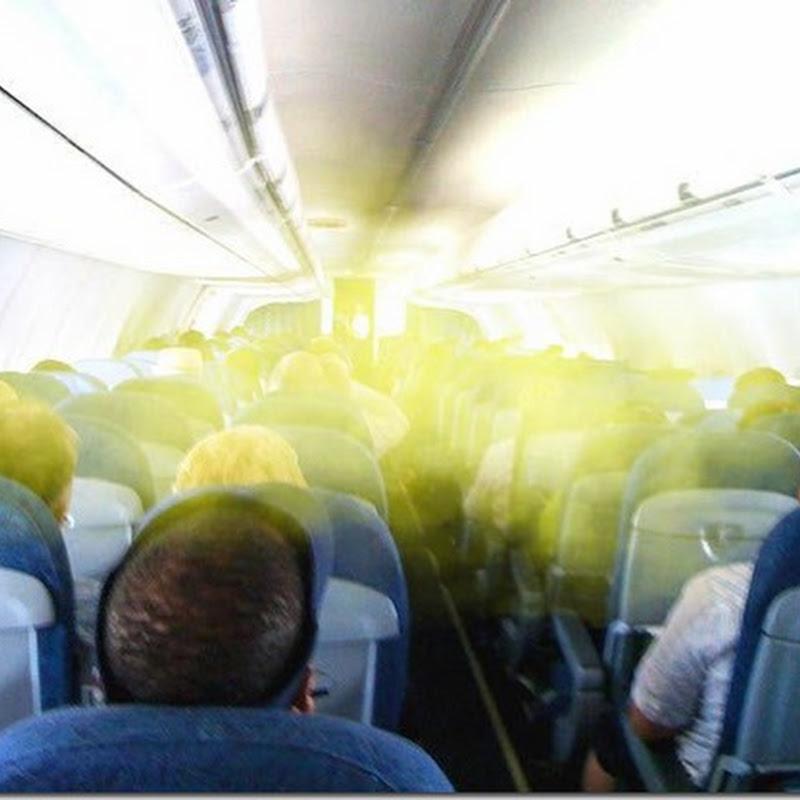 Los molestos pedos en el avión