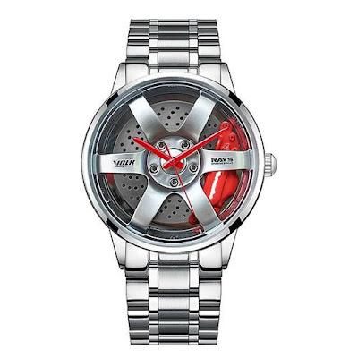 Relógio masculino roda de carro
