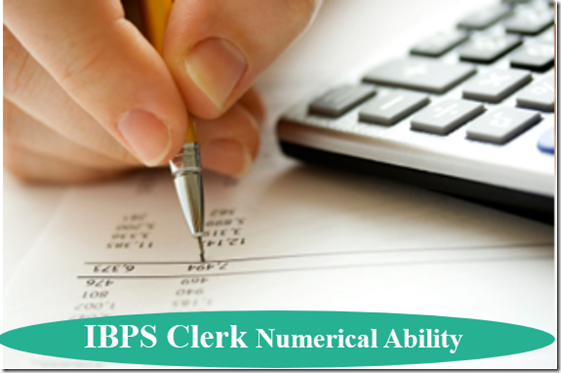IBPS Clerk Numerical Ability