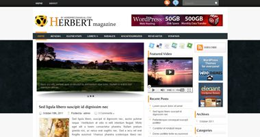 Free Wordpress Theme - Herbert
