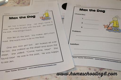 Super Teacher Worksheet Fun - Homeschooling 6