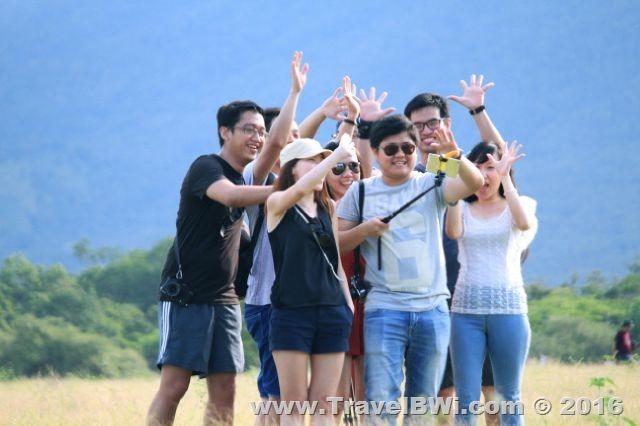Paket Tour Wisata Banyuwangi Travel BWi - Savana Bekol - Rezha Dkk