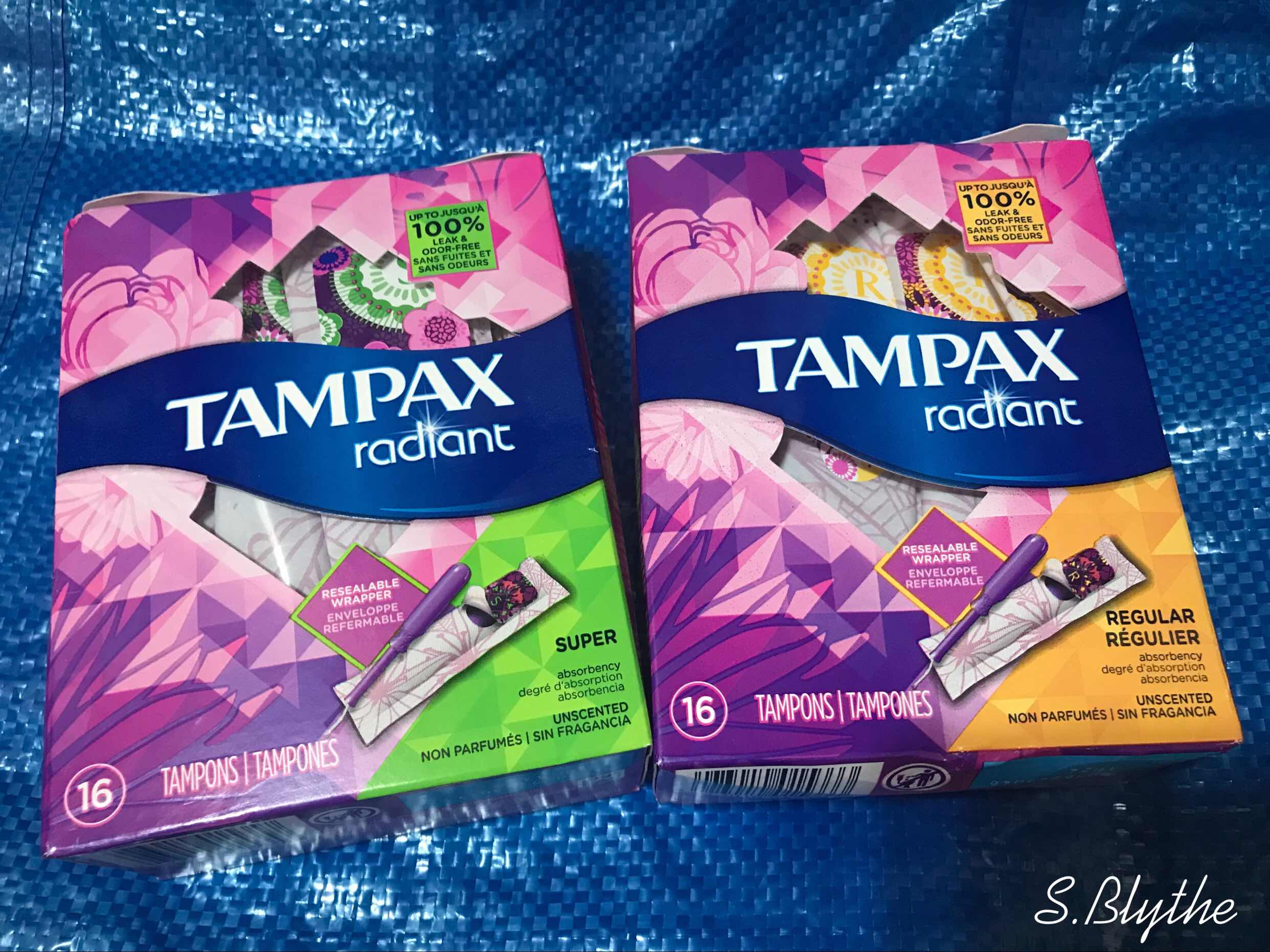 蜜月旅行輕鬆自在,只因Tampax棉條!