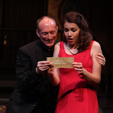 Mark Stephens and Amy Lamena in LEADING LADIES - October 2011.  Property of The Schenectady Civic Players Theater Archive.