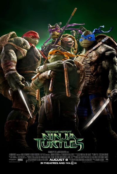 Poster Of Teenage Mutant Ninja Turtles (2014) Full Movie Hindi Dubbed Free Download Watch Online At alldownloads4u.com
