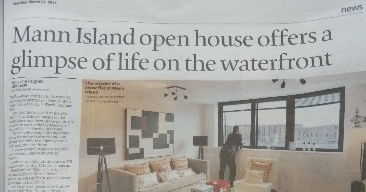 Liverpool Preservation Trust Mann Island Another Liverpool Daily Post Advertorial