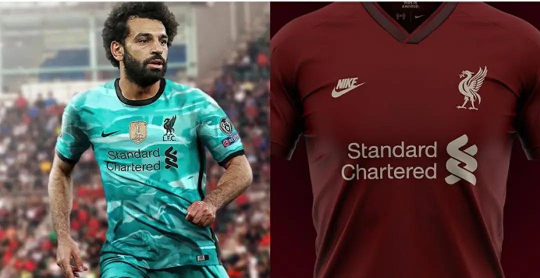 gambar Desain konsep tandingan jersey liverpool 2020-2021