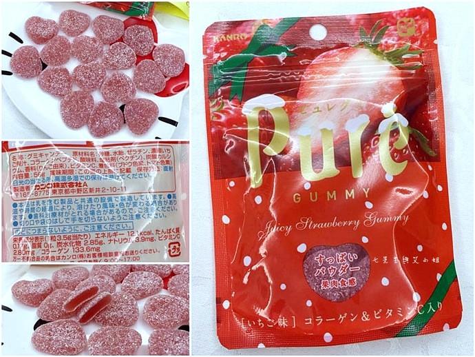 18 日本人氣軟糖推薦 UHA味覺糖 KORORO pure 甘樂鮮果實軟糖