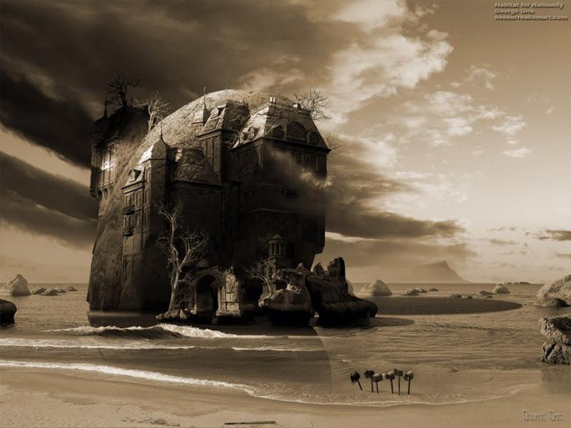 Horror Landscape Of Deep, Magical Landscapes 6