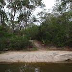 Crossing a wide creek (129793)