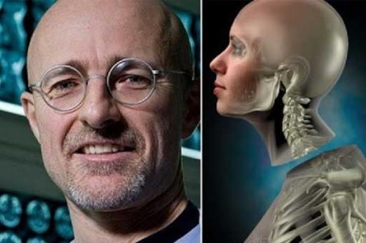 زراعة رأس بشري لأول مرة