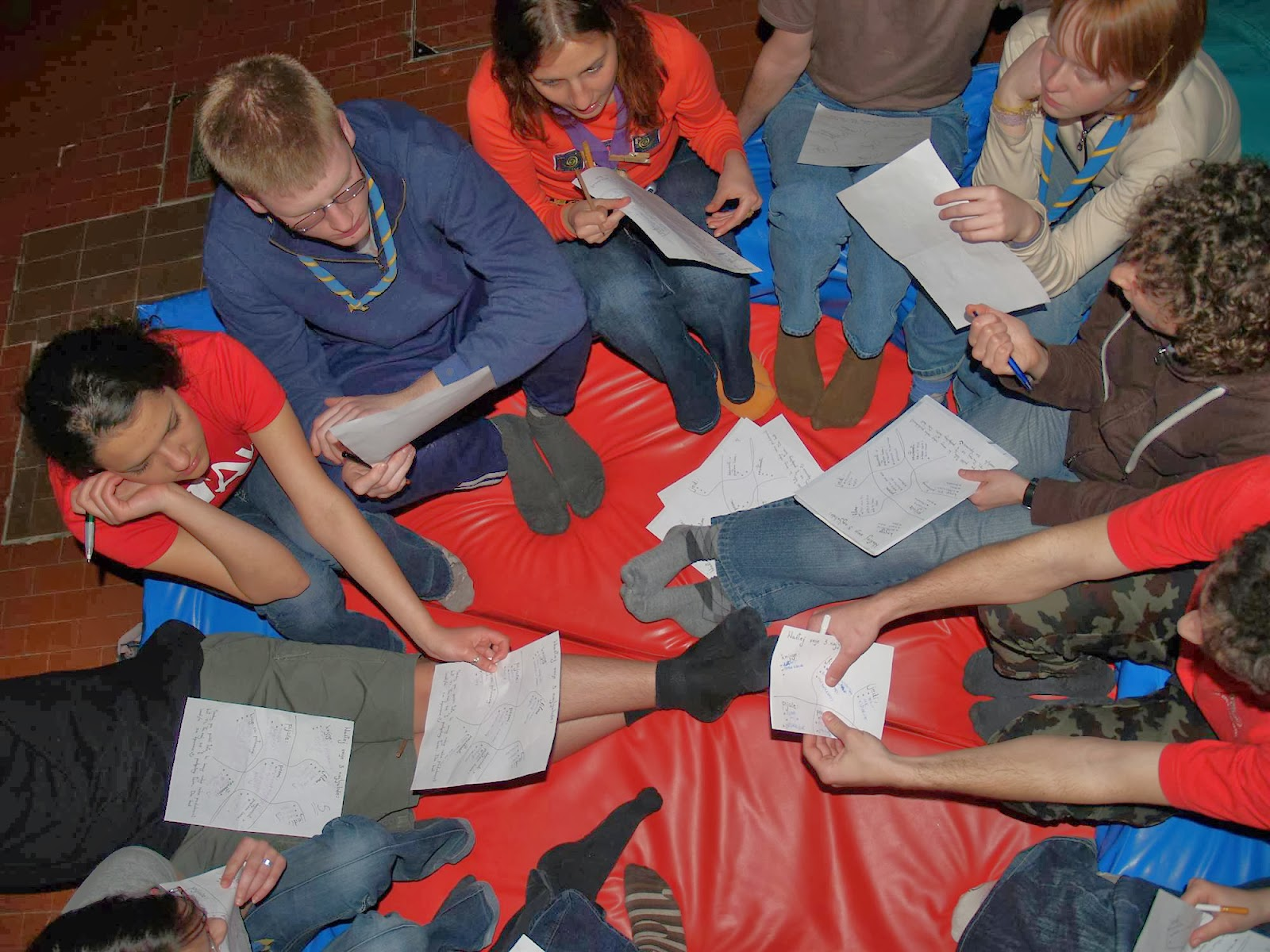 Motivacijski vikend, Lucija 2007 - P0095733.JPG