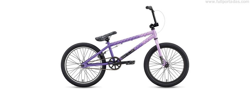 Portada para facebook de Bicicleta BMX