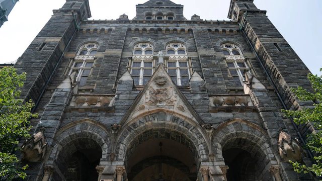 Fired Georgetown Law Professor's Comments Likely Protected Speech, Attorney Argues