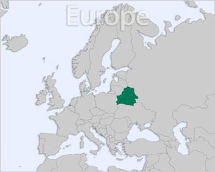 Belarus location map