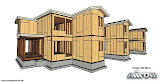 Timber Frame Module Home,  Tomasz Miron