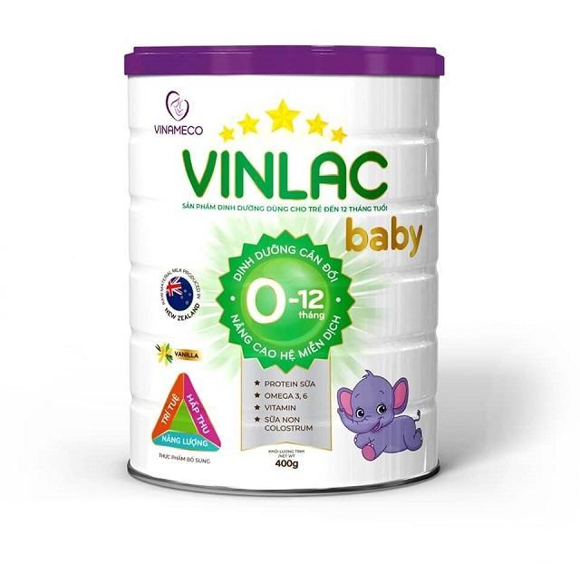 Phân loại Sữa Vinlac cho trẻ từ 0 đến 10 tuổi hiện nay 1