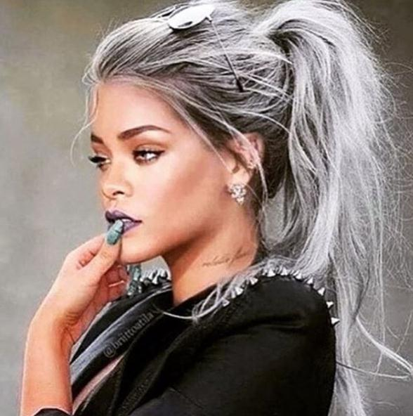 Latest short-medium Grey Hairstyles For 2018 2