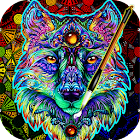 Coloring Book For Adults Free 【ColorWolf】 🐺| 🇺🇸 icon