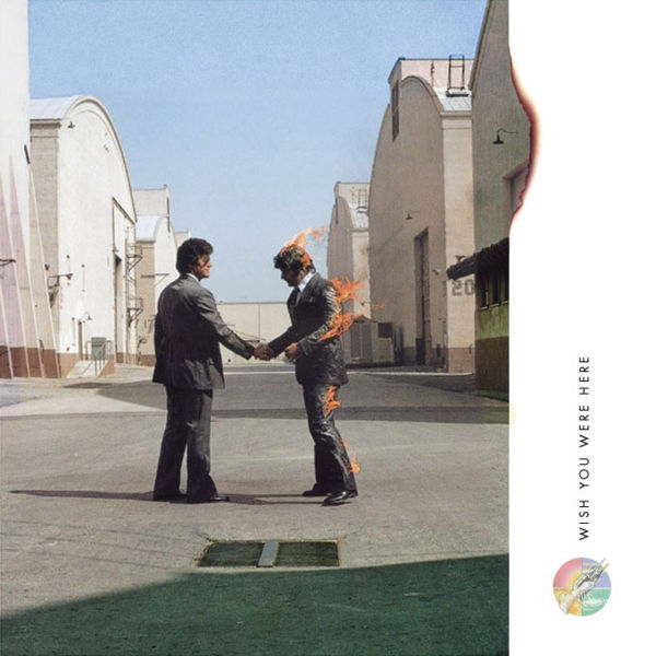 Pink Floyd - Wish You Were Here album cover.