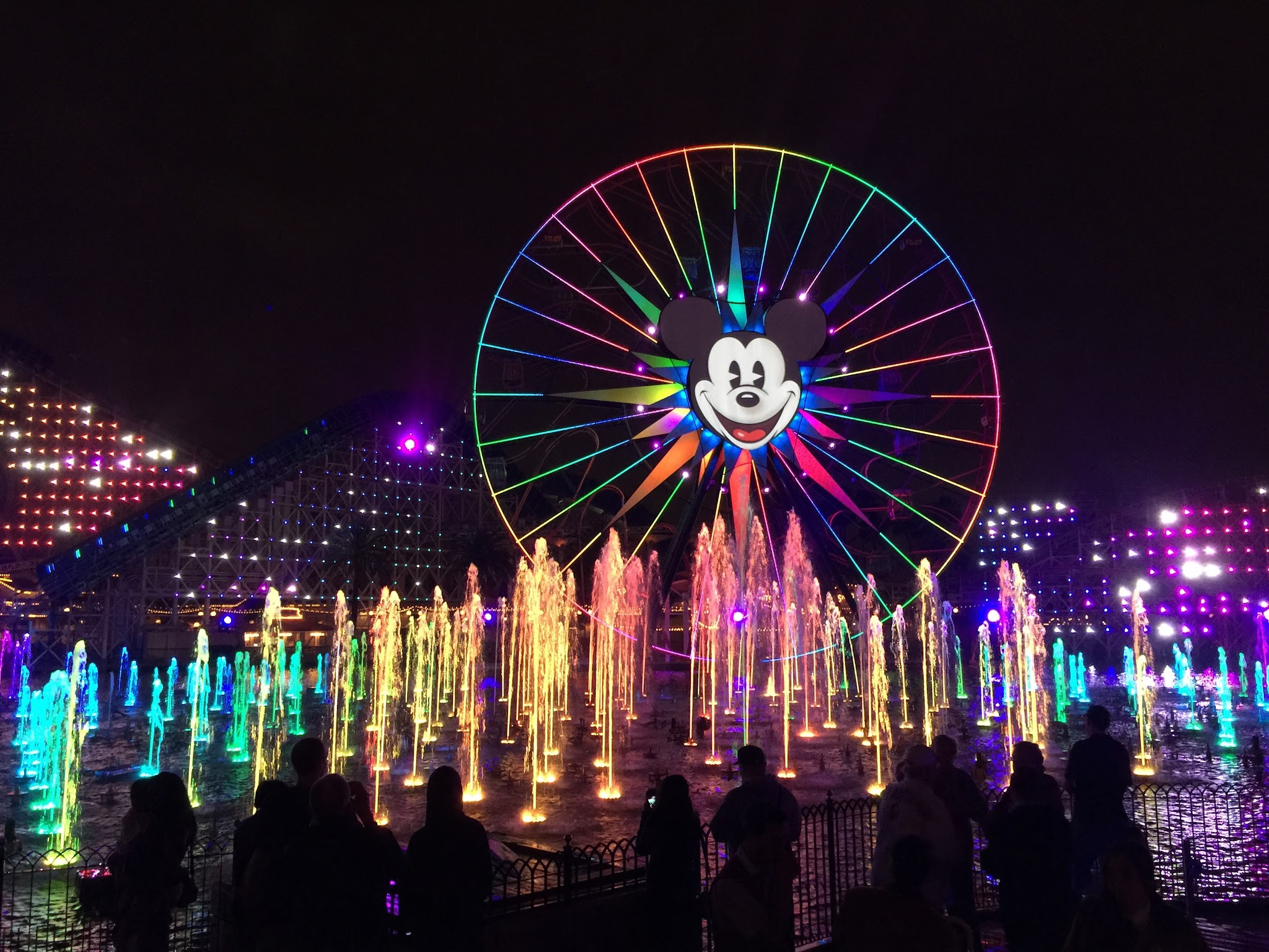 The World of Color Concept Art Designing Disney