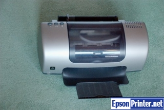 Reset Epson 830U printing device with software