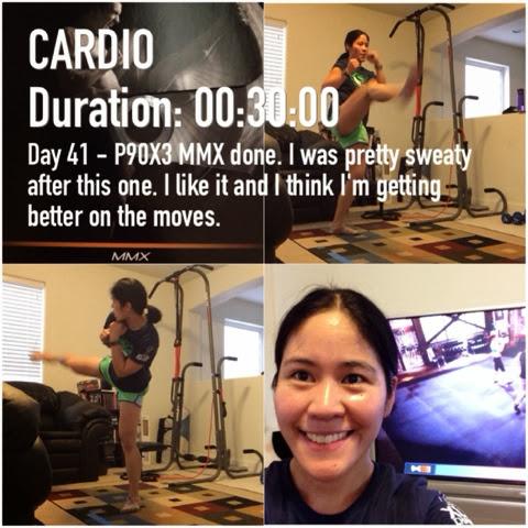 Day 41 – P90X3 MMX – Happy Running Mom