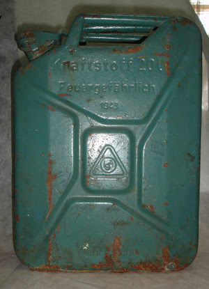 Canister for petrol