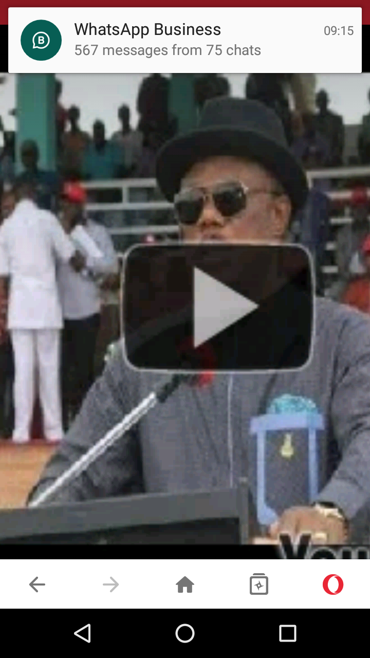 Willie Obiano Speaks On Resolving Herdsmen Conflicts In Anambra (Video)