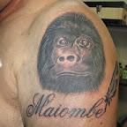 gorila ombro maiombe - tattoos for women