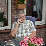 Geert Moed na 42 jaar werken bij de gemeente met pensioen - Foto's Jakob Moed