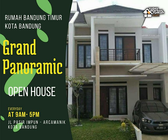 Rumah Ready Stock / Indent Kota Bandung Dekat Arcamanik Antapani Cicaheum Strategis, View Pegunungan
