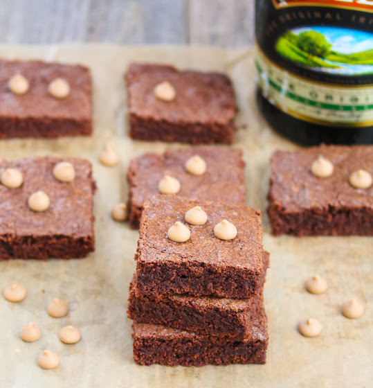 Baileys Irish Cream Brownies
