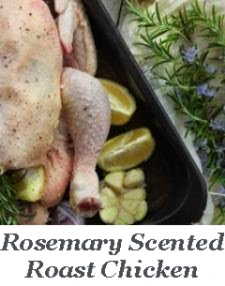 Rosemary Scented Roast Chicken