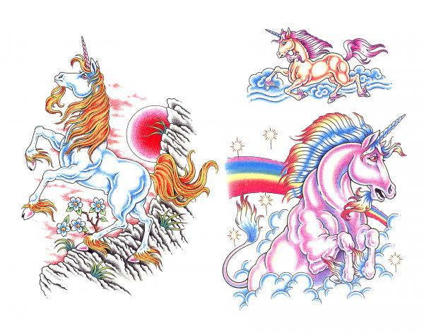 Design Of Magick Tattoo 3, Fantasy Tattoo Designs