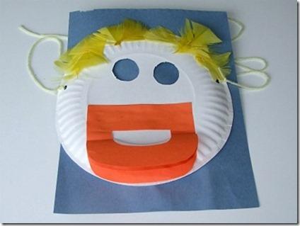 mascara de to con plato manualidades para niños (2)